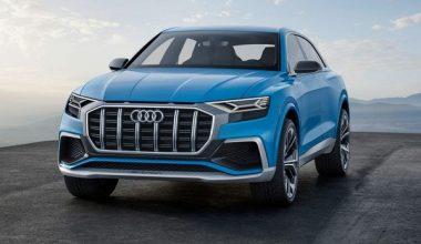 Audi Q8 Yollarda!