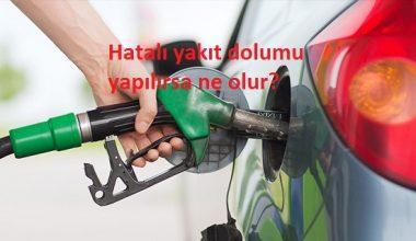 Depoya yanlış yakıt koyulursa ne yapmalı?
