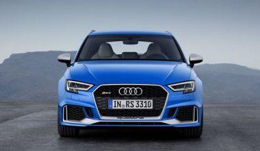 400 Beygirlik 2017 Audi RS3 ile tanışın!