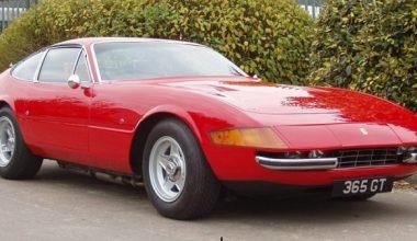 Efsane Ferrari 365 GTB/4 Daytona
