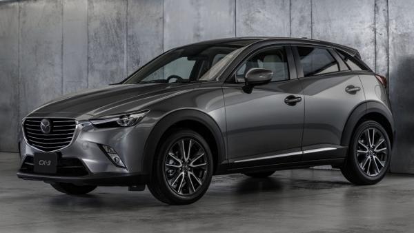 Makyajlı 2017 Mazda CX-3 Yeni Teknolojilerle Geliyor
