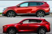 2017 Mazda CX-5'mi 2017 Honda CR-V'mi?