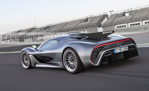 1000 beygirlik Mercedes-AMG Project One