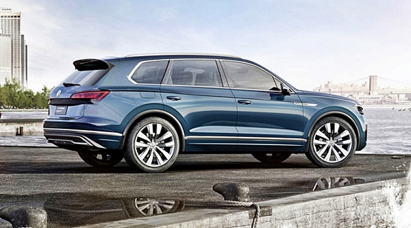 VW'den İkinci Premium Adım: 2018 Volkswagen Touareg