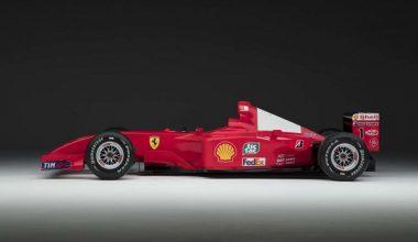 Shumacher'in Bebeği Ferrari F2001, 5.7 Milyon Euro'ya Satıldı