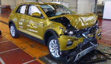 VW T-Roc ve Volvo XC60 Çarpışma Testine Girdi