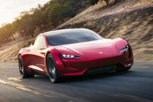 """Yeni Tesla Roadster ile """"Elon Musk Show"""" Sürüyor"""