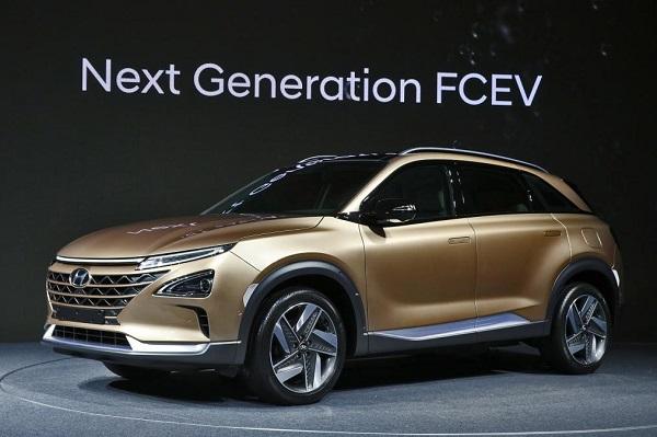Yakıt Hücreli Hyundai NEXO Tanıtıldı.