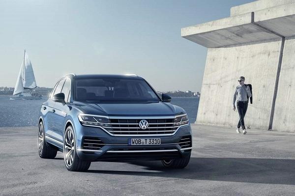 İşte 2019 Yeni VW Touareg