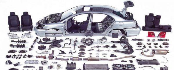 Bir Arabada Kaç Parça Vardır?