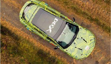 El Yapımı SUV; Aston Martin DBX İddialı Geliyor