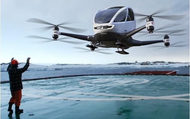 Pilotsuz Uçan Taksiler Yakında Hizmete Başlıyor