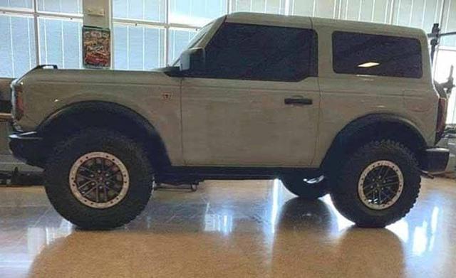 Yeni Ford Bronco tasarımı