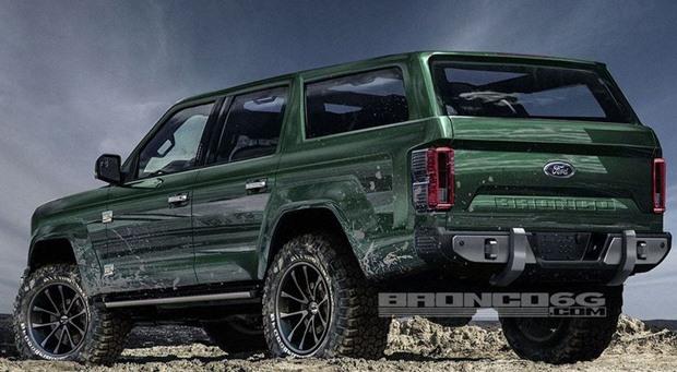 Ford Bronco Efsanesi Geri Dönüyor