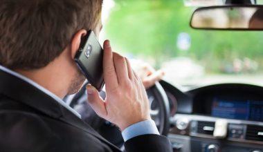 Araç Kullanırken Telefonla Konuşma Cezası