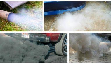 Benzinli Araç Egzoz Dumanları ve Anlamları Nelerdir
